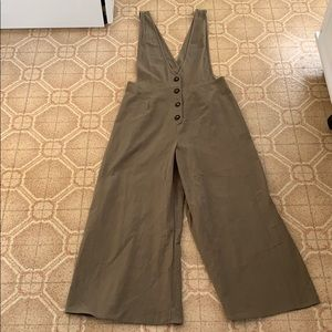 NEW Linen Overall Jumpsuit